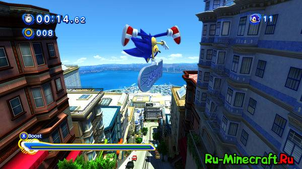 [Разное][Game] Sonic Generations - возвращение 2d ежа вместе с 3d ежом