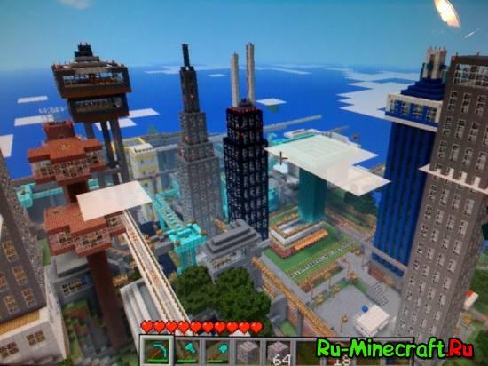 [Map][1.5.2+] Big City 2.2 - большой город