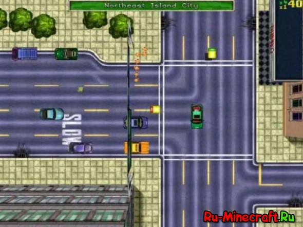 История серии Grand Theft Auto - GTA 1!