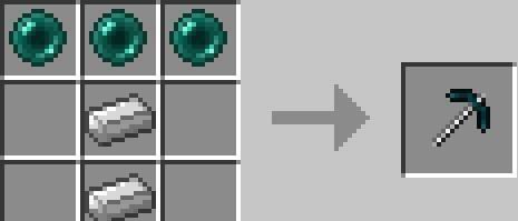 Mo' Pickaxes  - новые кирки  [1.11.2-1.6.4]