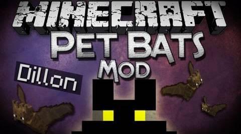 [1.5.2-1.7.10] PetBat - приручи летучую мышь
