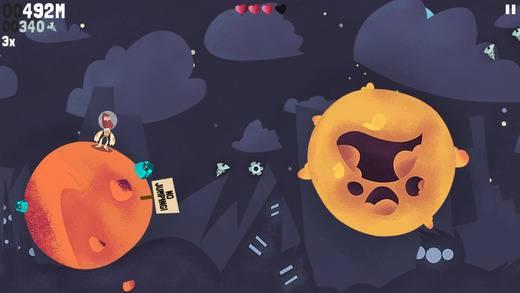[Game] Beyond Gravity - Прыгай по планетам...