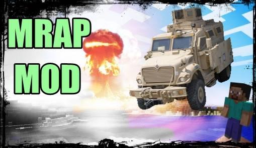 [1.6.4] MRAP mod - Мощное авто