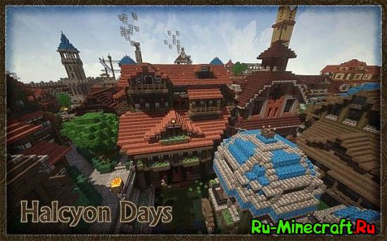 [1.7.10/1.7.2][32x] Halcyon Days - ресурспак в средневековом стиле