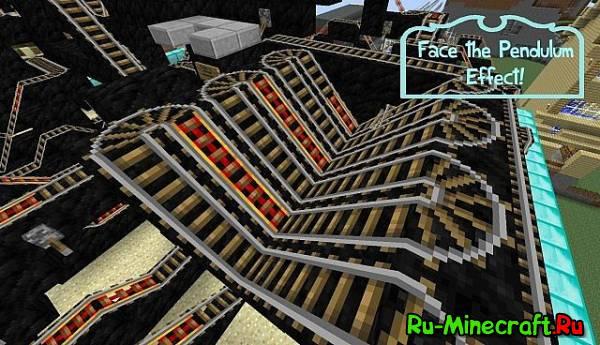 [Map] Diamond Mine Rollercoaster - Горки!