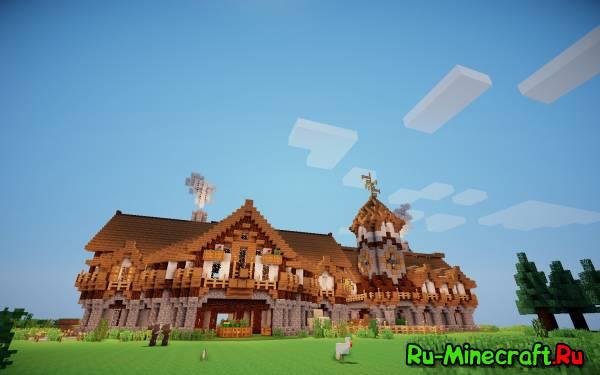 [Map] Medievals Houses - 2 средневековых дома!