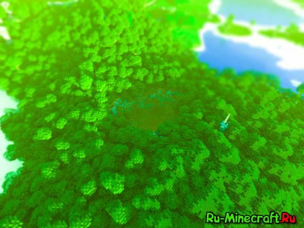 [Map] — Saturelia Island — Огромный тропический остров [2048х2048 блоков]