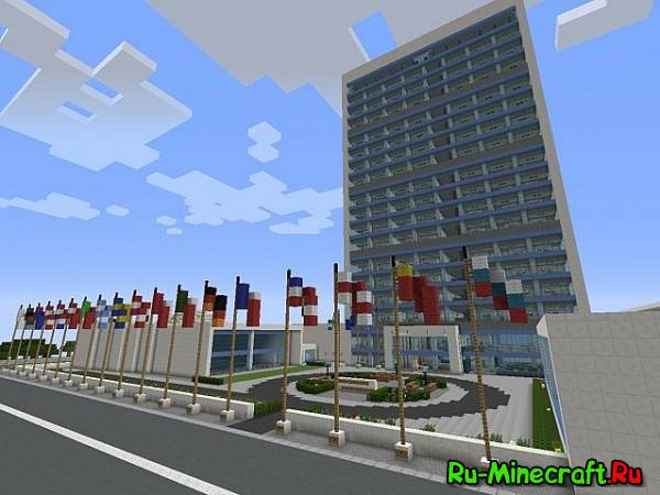 [1.7.2+]United Nations: New York - Прогуляйся по Нью Йорку
