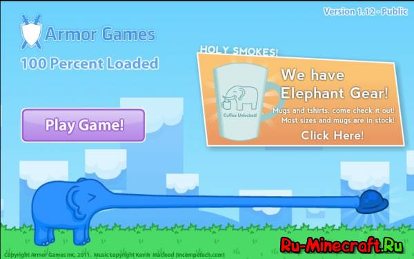 [Other] Elephant Quest  - Поиграй за слоника!