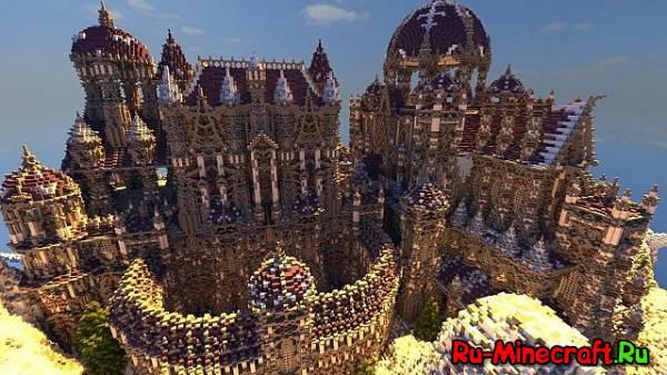 [Map] Amalorian - Большой и красивый замок!
