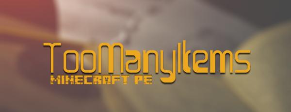 [MC:PE][0.9.X] TooManyItems— теперь и на смартфоне