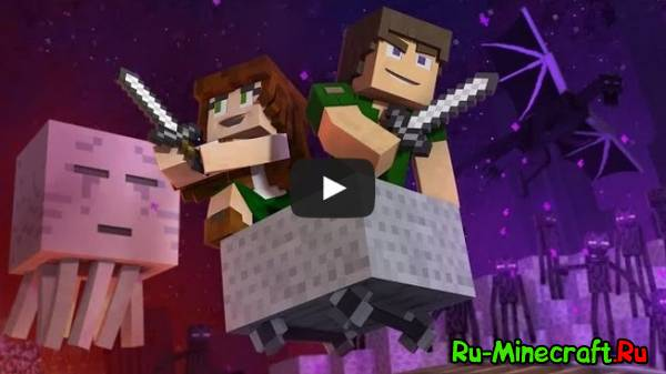 "[Video] ♪ ""Through The Night"" - A Minecraft Original Music Video / Song ♪"