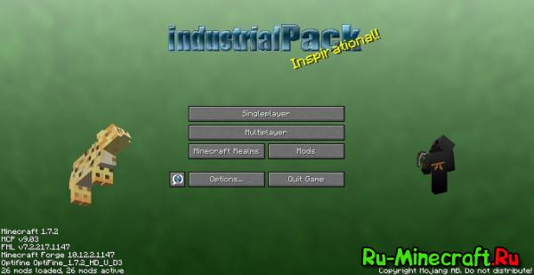 [Client][1.7.2] IndustrialPack от Toxq v4.0.1