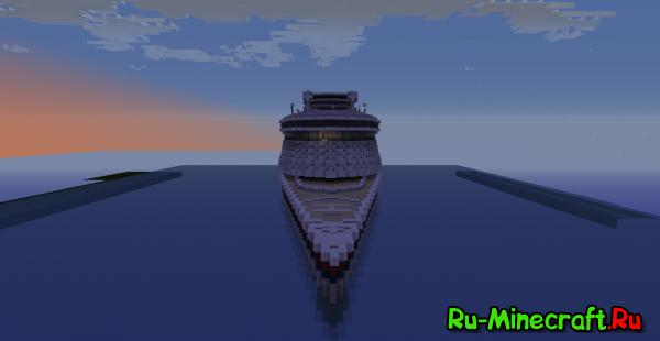 [Map]SeaQueen - Огромный круизный лайнер!