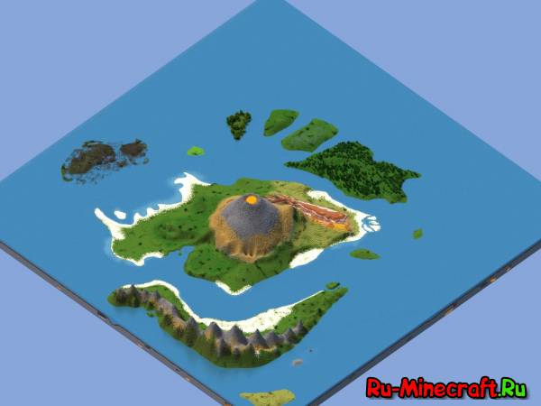 [1.7.9] Chibai Islands - вулкан и острова!