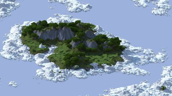 [Map] Head into the Clouds - Острова из поднебесной