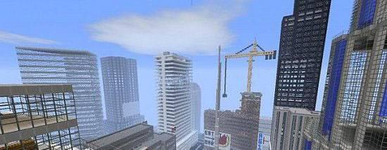 Скачать карту Fortress - Город для Майнкрафт 1.7.10