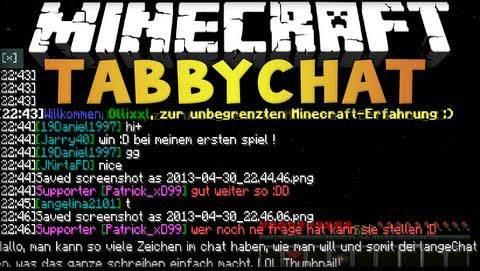 TabbyChat 2 [1.12.1] [1.11.2] [1.10.2] [1.9.4] [1.8.9] [1.7.10]