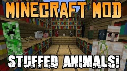 [1.7.10] Stuffed Animals Mod - Чучела животных!