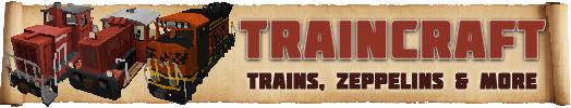 [Mod][1.1-1.6.4] TrainCraft - стань Железнодорожником ! [Трэинкрафт]