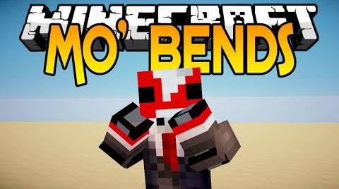 [1.7.2-1.7.10] Mo' Bends Mod- Больше движений