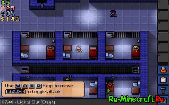 [Game] The Escapists - пиксельная тюряга!