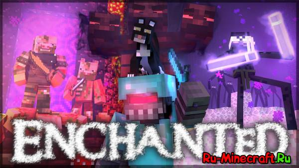 [Video] Enchanted — Музыкальная пародия в майнкрафте