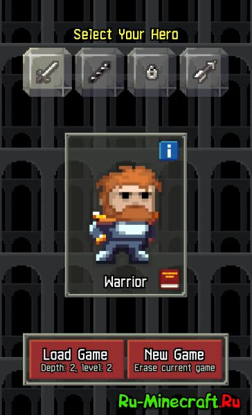 [Разное][Android][v1.7.1c] — Pixel Dungeon — Забавная бродилка, вызывающая баттхёрт