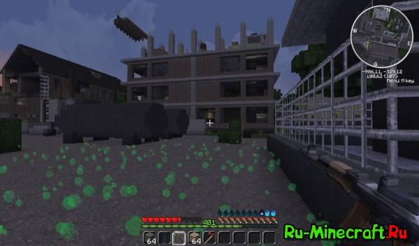 Minecraft DayZ Mod [1.4.2] скачать бесплатно - Моды на ...
