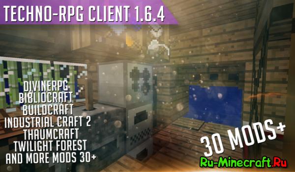 [Client][1.6.4] RPG + TECHNIC = CraZyyy Client + Сервер
