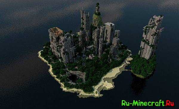 [Map] — Despair Island — Небольшой остров с постапокалиптическим городом
