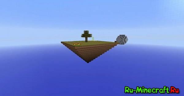 [Map][1.7.10] Sky Pyramid - карта с заданиями