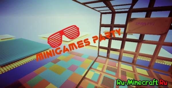 [Plugin][1.7.9] MiniGames Party- Крутое тусэ!