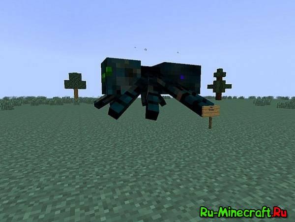 Much More Spiders - новые пауки [1.12.2] [1.11.2] [1.10.2] [1.9.4] [1.8.9] [1.7.10]