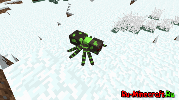 Much More Spiders - новые пауки [1.12.2] [1.11.2] [1.10.2] [1.8.9] [1.7.10]