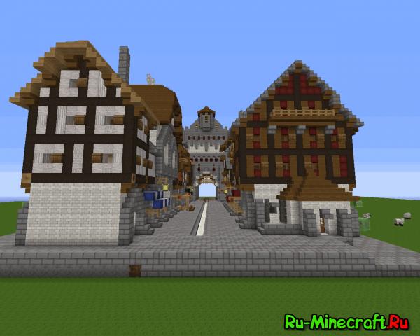[Map][1.7+] Medieval building pack - пак средневековых строений