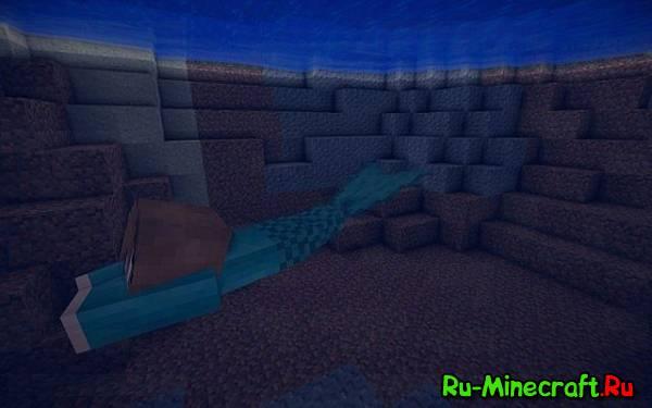 [Mod][1.6.4/1.7.2/1.7.10][Forge] Mermaid Tail — хвостик...