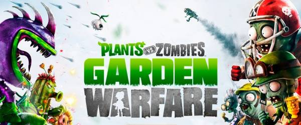Plants vs zombie garden warfare - Растения против зомби!