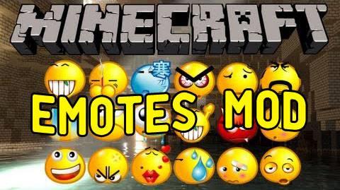 Emotes Mod - Эмоции [1.7.10]