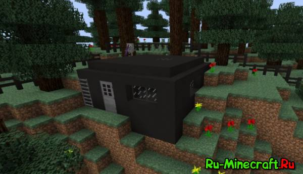 [1.7.X] Bunker Mod - бункеры