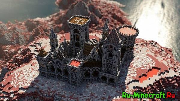[Map] Fargloom Fortress — Красивая крепость