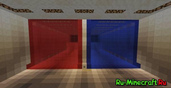 [Map] [1.8+] Red vs. Blue - Противостояние!