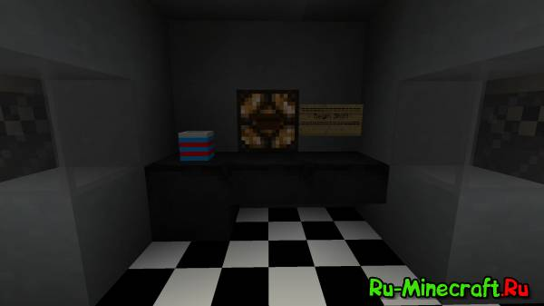 [Map][1.8+] FIVE NIGHTS AT FREDDY'S - Возвращение в Minecraft!