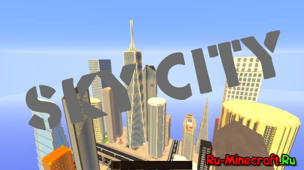 [MAP][1.7+] Sky City - Мегаполис при аэропорте