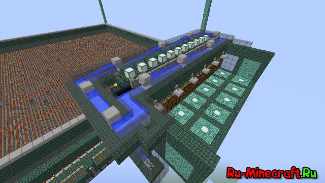 [Карта][Гайд] Автоферма стражей и кальмаров в minecraft 1.8+