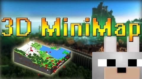 [1.7.10-1.7.2] 3D Minimap -  Rei s minimap - ну только в 3D!
