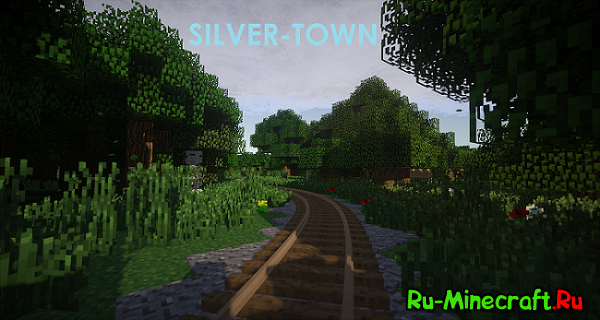 [Client][1.7.10] Silver-Town - Провинциальный город V2.1