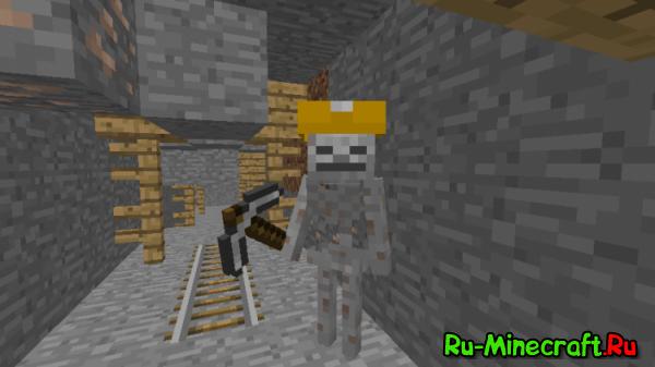 [1.7.10] Mo' Skeletons - новые скелеты