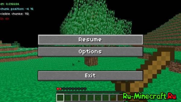 [Разное][PSP] Minecraft PSP 1.1 beta