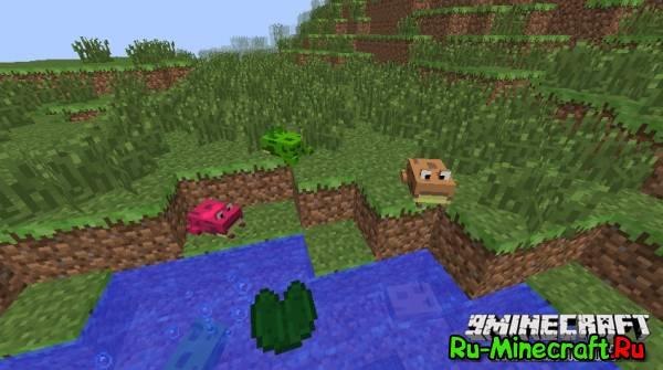[1.7.10] Water Creatures - больше водных созданий